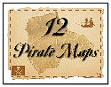 12 Pirate Maps